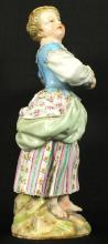 19TH C. MEISSEN FIGURE