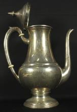 AMERICAN STERLING SILVER COFFEE POT