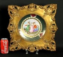 PAIR OF FRAMED ROYAL VIENNA PLATES