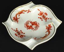 19TH C. MEISSEN CHINESE PLATE