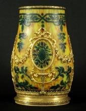 Art Noveau Cameo Glass Vase