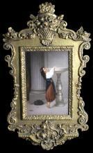 KPM PORCELAIN PLAQUE OF YOUNG LADY