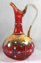 MOSER DECORATED EWER