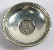 PEWTER QUARTER DOLLAR BOWL