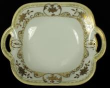 Japanese Porcelain Dish with Handle