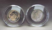 Roosevelt Dimes, Silver