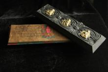 Antique Hand Painted and Calligraphy Buddhist Bible Manuscripts.