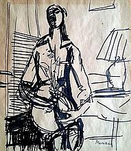 Zygmunt (Sigmund) Menkes (Polish - American, 1896-1986)