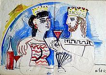 Shalom Reiser (Israeli - Polish, 1920-2001)
