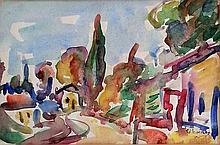 Michel Kikoine (French - Lithuanian, 1892-1968)