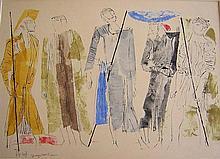 Shraga Weil (1918-2009), Israeli - Czech