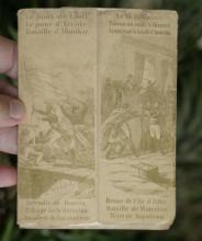 original ca. 1830's souvenir booklet Gloire de Napoleon with 11 gravures