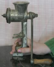 antique Perfection Food Chopper meat grinder