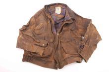 A waxed Browning jacket-large