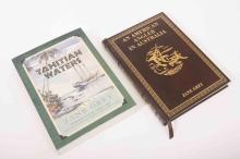 Two modern Zane Grey books-Tales of Tahitian Waters and An American Angler
