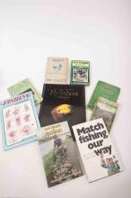 A selection of fly fishing and match angling books old and new