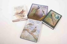 Four books on pheasants-Pheasant Jungles William Beebe, The Pheasant Hill a