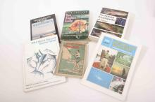 Six fishing books old and new covering record fish and fishing abroad inc.