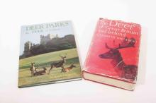 Two deer books-deer parks and the Deer of Great Britain and Ireland by G. K