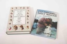 Two fly fishing books including author Lefty Kreh