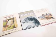 Three natural history books by C.F Tunnicliffe, and Eric Hoskings