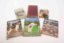 A selection of gundog books including Modern Dogs (sporting) by Rawdon B. L