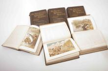 Six Royal Natural History books dated 1894-95