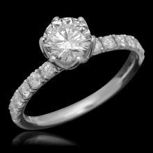 14K Gold 1.51ct Diamond Ring