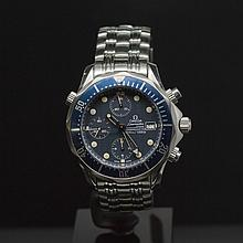 Omega Seamaster 300 M Chrono Diver Stainless Steel 42mm Men's Wristwatch