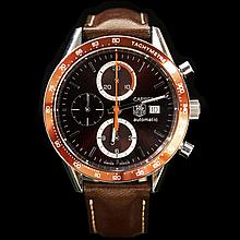 Tag Heuer Carrera 41mm Calibre 16 Chrono Automatic Mens Wristwatch