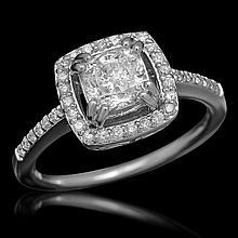 14K Gold 1.32ct Diamond Ring