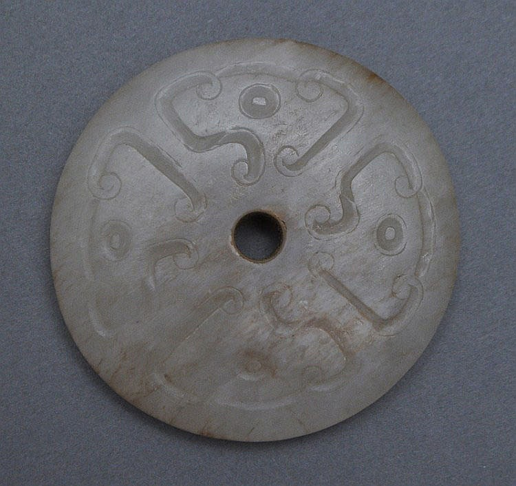 A Chinese Jade Bi