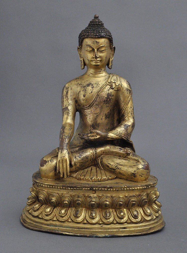 A Sino-Tibetan Sakyamuni Buddha, Qing