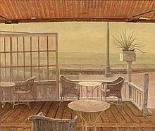 Jacob Nieweg (1877-1955), 'Terras op de Boulevard de Ruyter