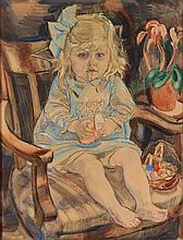 Jan Sluijters (1881-1957), 'Clementine Nolet, 2 jaar, 4 mnd.