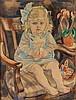 Jan Sluijters (1881-1957), 'Clementine Nolet, 2 jaar, 4 mnd., Jan Sluijters, €0