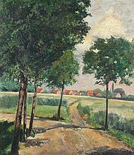 JUNGHEIM Julius (1878-1957) zugeschr. ''Sommerlich