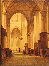 TETAR VAN ELVEN Jean Baptiste (1805-1889) ''Kirche