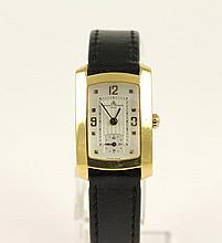 DAMENARMBANDUHR 750/ooo Gelbgold Marke: BAUME & ME
