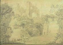 PILLEMENT Jean Baptiste (1728-1808) ''Landschaft m