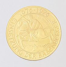 COMMEMORATIVE COIN - 1000 SCHILLING 1976