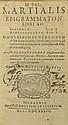 M. VAL. MARTIALIS EPIGRAMMATON Munich, 1633. M.