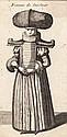 Václav Hollar (1607-1677). EPOUSE DE VILLAGE,