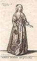 Václav Hollar (1607-1677). NOBILIS MULIER