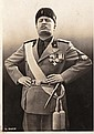 PHOTOGRAPHIES OF BENITO MUSSOLINI WITH THE