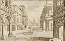Anonymous author ARCHITECTURE. 18th century. Two
