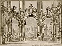Martin Engelbrecht (1684 -1756) ATRIO NELLA