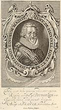 Simon Paseus ANTONIUS DE PLUVINEL. 1623. Etching