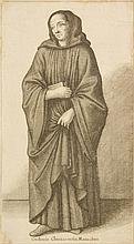 Václav Hollar (1607-1677) A CLUNY ORDER MONK.