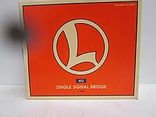 Lionel Single Signal Bridge 452